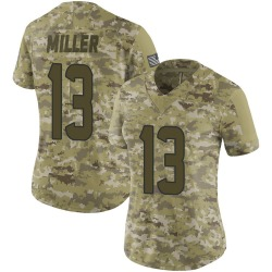 Nike Braxton Miller Houston Texans Limited Camo 2018 Salute to Service Jersey - Women's