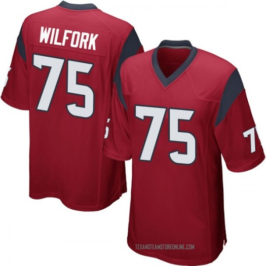 Nike Vince Wilfork Houston Texans Game Red Alternate Jersey - Youth