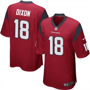 Nike Johnnie Dixon Houston Texans Game Red Alternate Jersey - Youth