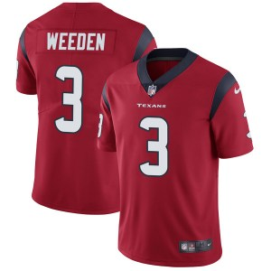 Nike Brandon Weeden Houston Texans Limited Red Alternate Vapor Untouchable Jersey - Youth