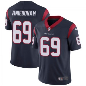 Nike Jesse Aniebonam Houston Texans Limited Navy Blue Team Color Vapor Untouchable Jersey - Youth