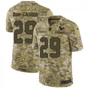 Nike Briean Boddy-Calhoun Houston Texans Limited Camo 2018 Salute to Service Jersey - Men's