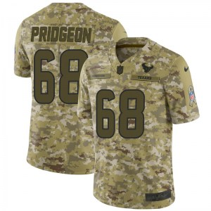Nike Malcolm Pridgeon Houston Texans Limited Camo 2018 Salute to Service Jersey - Men's