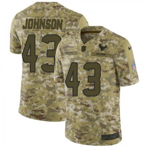 Nike Chris Johnson Houston Texans Limited Camo 2018 Salute to Service Jersey - Youth