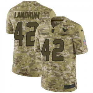 Nike Chris Landrum Houston Texans Limited Camo 2018 Salute to Service Jersey - Youth