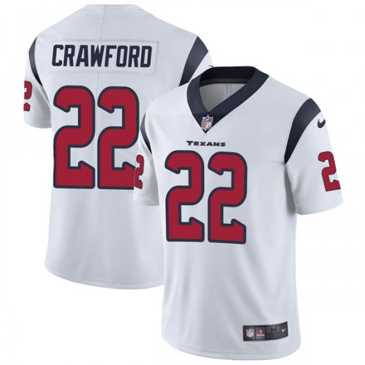 official photos 14c06 8c8c9 Nike Xavier Crawford Houston Texans Limited White Vapor Untouchable Jersey  - Youth