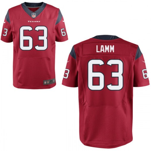 Nike Kendall Lamm Houston Texans Elite Red Mens Jersey - Men's