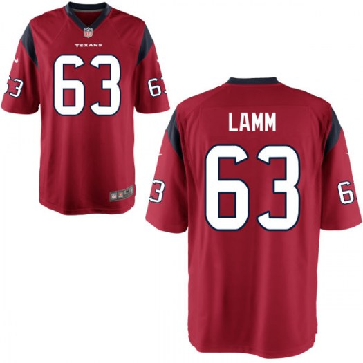 Nike Kendall Lamm Houston Texans Game Red Mens Alternate Jersey - Men's